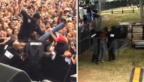 B.o.B. Concert -- Fan Beaten By Security ... Video Shows Excessive Force