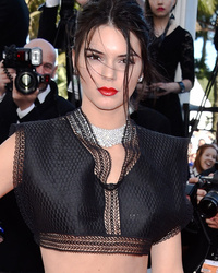 Kendall Jenner Flaunts Teeny Tiny Waist At 2015 Cannes Film Festival -- See Her Sexy look!