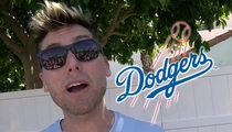 L.A. Dodgers -- Tap Lance Bass for LGBT Night