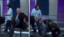 Bill Murray -- I'm So Drunk ... I Fell for MSNBC!!!   (VIDEO)