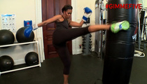 Michelle Obama -- KICKBOXER!!!!!