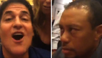 Mark Cuban -- Tiger Woods Killed Me Slowly, But Surely at Poker Tables