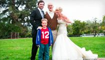 'Bad Grandpa' Wedding Couple -- Adios, Jackass ... Wife Files For Divorce