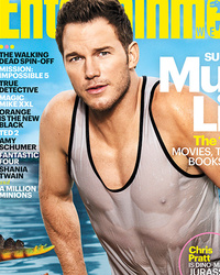 Chris Pratt Puts His Buff, Soaking-Wet Bod on Display for EW
