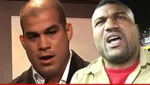 Tito Ortiz & Rampage Jackson -- Admit Defeat in Trash Talking Lawsuit