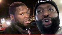 50 Cent Sues Rick Ross -- Baby Mama's Sex Tape Was Released