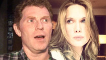 Bobby Flay -- Low Divorce Blow Over Breasts