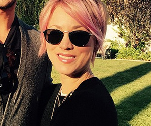 Kaley Cuoco Goes Overboard on Pink, Dyes Her Eyebrows!