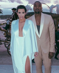 Kanye West Gushes Over Kim Kardashian Following One Year Anniversary!