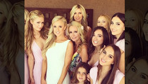 Kim Richards -- Under the Influence at Daughter's Wedding .
