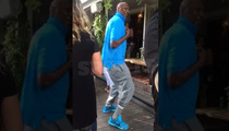 Lamar Odom -- 1-Man Dance Party ... In L.A