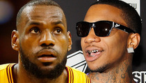 Lil B -- Threatens to Curse LeBron James .