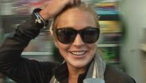 Lindsay Lohan -- Mission Accomplished!!!  I Finished My Community Service