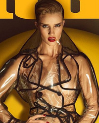 Whoa! Rosie Huntington-Whiteley Goes Completely Naked for Lui Magazine