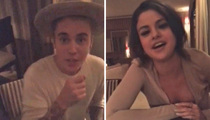Justin Bieber & Selena Gomez -- Together Again for God ... But Not for E