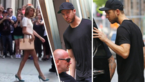 Taylor Swift & Calvin Harris -- Nighttime Is the Right Time ... For Healthy Pizza (TMZ TV)