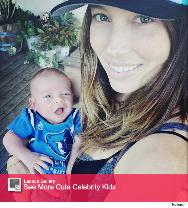 Jessica Biel's Post-Baby Bod