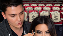 Kim Kardashian -- Making Up with Her Costs a Grand!!!