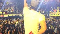 Enrique Iglesias -- Badly Injured in Drone Accident During Concert