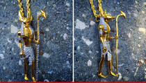 NBA's Trevor Ariza -- Floss Like An Egyptian ... Drops $12k On Anubis Chain