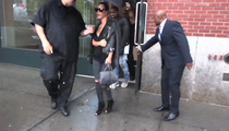 Kim Kardashian -- Doin' the Bump ... Somebody's Showing (VIDEO)