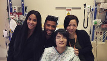 Russell Wilson & Ciara -- Surprise Kids At Children's Hospital