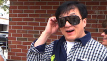 Jackie Chan -- It's All Chinese to Him & Our Photog (VIDEO)