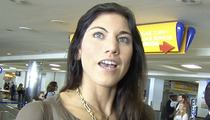 Hope Solo -- Shocking Details from '14 Arrest ... Called Cop a 'B*tch'