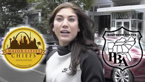 Hope Solo -- Police Org. Demands Apology ... Over Alleged Anti-Cop Rant