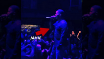 Jamie Foxx -- Surprise Concert in Small Town, Montana ... Django in the House!!