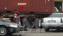 Danny Trejo -- Some Old Lady Crashed Right Into Me! (PHOTOS)