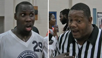 Anquan Boldin -- Clowns Ref at Celeb Hoops Game ... YOU SUCK!!!