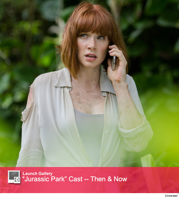 Bryce Dallas Howard Opens Up About Son S Jurassic World