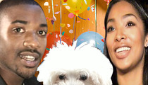 Ray J -- I'm Throwing a Crazy Party for My Dog ... But No Bitches Allowed