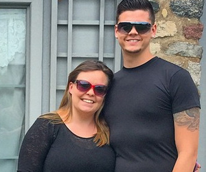 Catelynn Lowell and Tyler Baltierra Take Cute Pic In Front of Their Wedding