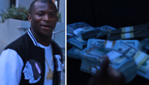 O.T. Genasis -- Straight Cash, Homie!!! Flashes Trunk Full o' Green (VIDEO)
