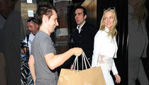 Matthew Bellamy -- All Smiles for New Chick ... Despite Shopping Spree Torture