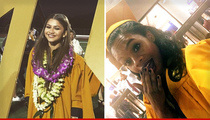 Zendaya Coleman & Gabby Douglas -- Star-Studded High School Graduation ... Even Bob Newhart Was There!