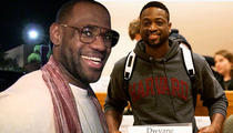 Dwyane Wade -- Studied LeBron During Harvard Course