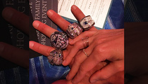 Tom Brady -- Drippin' In Diamonds ... Rocks All 4 SB Rings!!!