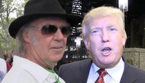 Neil Young -- I Got Beef with Candidate Donald Trump