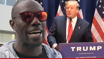 Terrell Owens -- ENDORSING TRUMP ... 'You're Hired!'