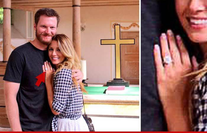 dale earnhardt jr lures new crew chief amy reimann With dale earnhardt jr wedding ring