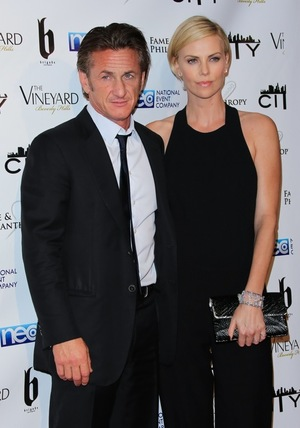 Charlize Theron & Sean Penn -- Before the Split