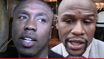 Andre Berto -- If Mayweather Wants to Fight ... Let's Fight!