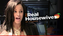 Claudia Jordan -- Booted Off 'RHOA' ... Housewives Dropping Like Flies
