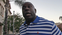 Magic Johnson -- I Forgave Donald Sterling ... 'I Don't Keep Grudges'