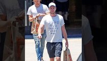 Liam Hemsworth -- Check it Out ... I Have Sole!!! (PHOTO)