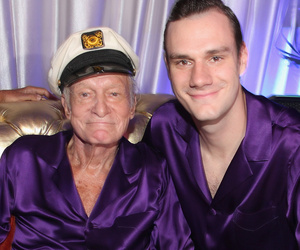 Hugh Hefner's Son Cooper Slams Holly Madison, Calls Her a 'Gold Digger'