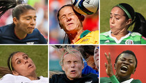 Hilarious Faces of Woman's World Cup -- Gooooooaaaaaaaal!